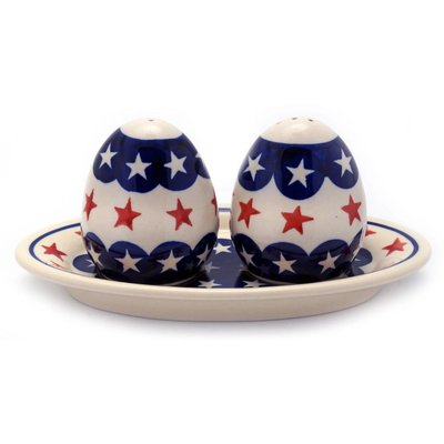 1776 Salt & Pepper w/ Tray