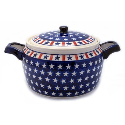 Patriot Covered Pot