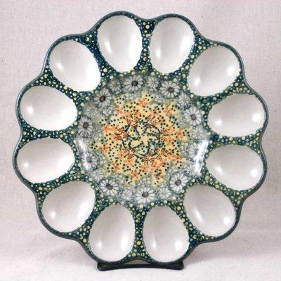 Roksana Egg Plate