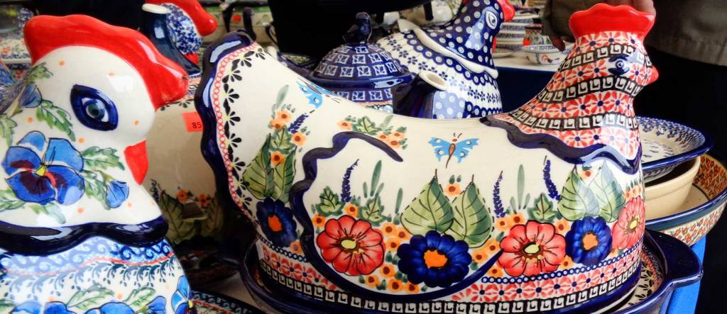 The Best Polish Pottery Selection and Service Helped With a Husband's Surprise