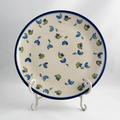 Bee-Dazzled Dinner Plate 26