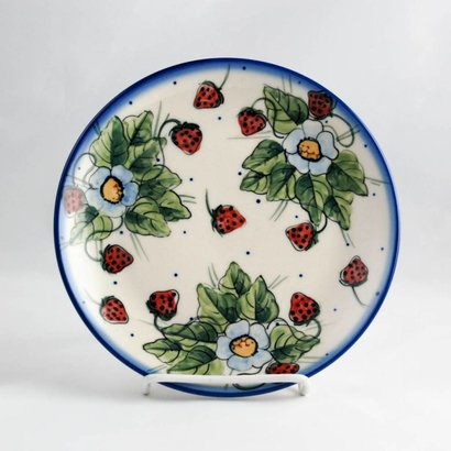 Berries & Cream Dessert Plate 19