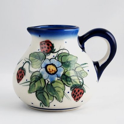 Berries & Cream Belly Pitcher - Sm