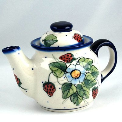 Berries & Cream Tea for One Teapot .5 Liter