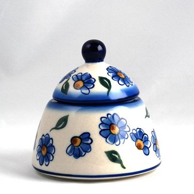 Painted Daisy Sugar Bowl