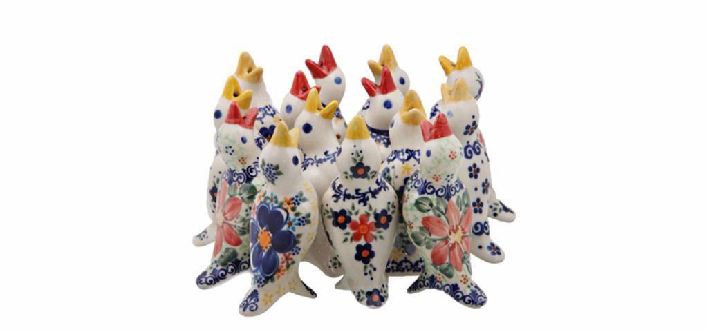 Ceramic Pie Birds - Ceramika Artystyczna Polish Pottery