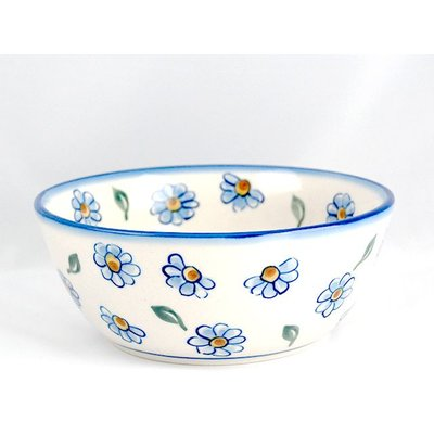 Painted Daisy Chili Bowl 18