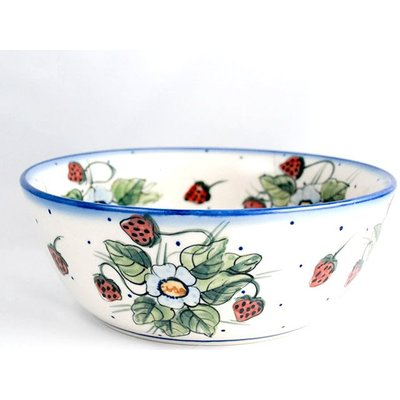 Berries & Cream Serving Bowl 23