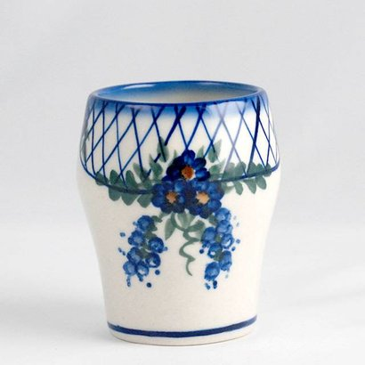 Lattice in Blue Tumbler