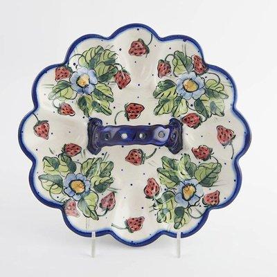 Berries & Cream Egg Plate