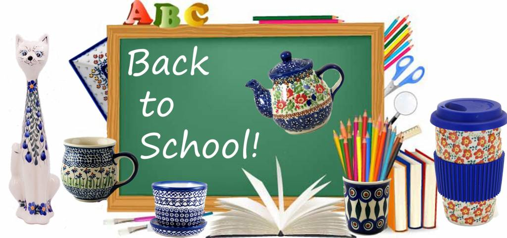 Back to School Ready With Polish Pottery Ceramic Mugs and Much More