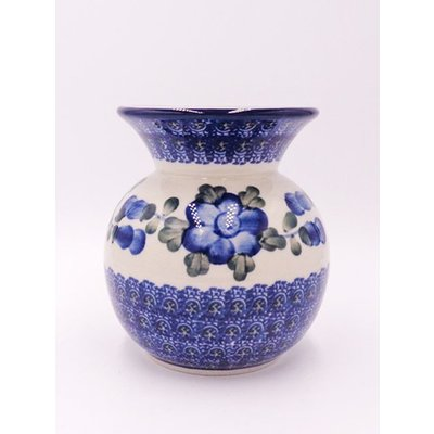 CA Blue Poppy Bubble Vase