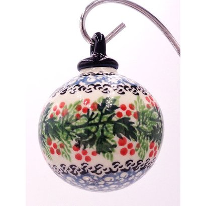 CA Holly Berry Ornament