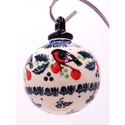 CA Snow Bird Ornament