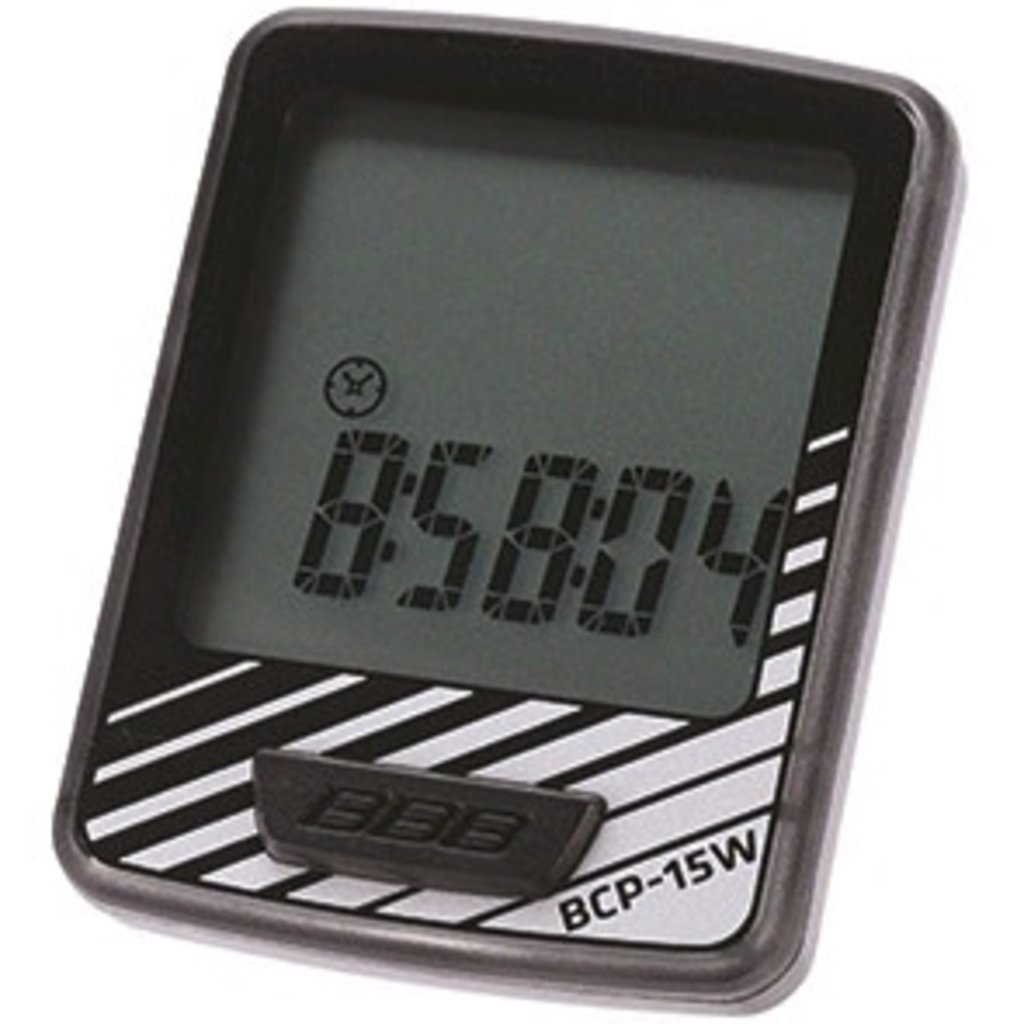 BBB BBB Dashboard Computer 10 Functions Black Silver