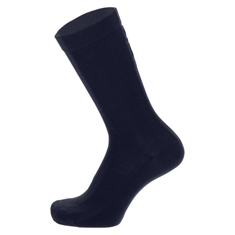 Santini Puro High Prof Cycling Socks Navy M/L