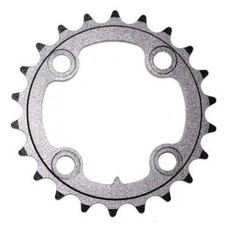 CHAIN RING ONLY - 22T, Alloy, For 8/9 Speed, BCD:64, BLACK