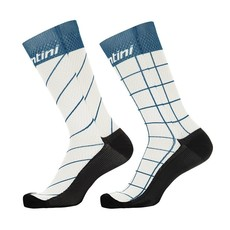Santini Dinamo XL/2xl Prof socks Silver
