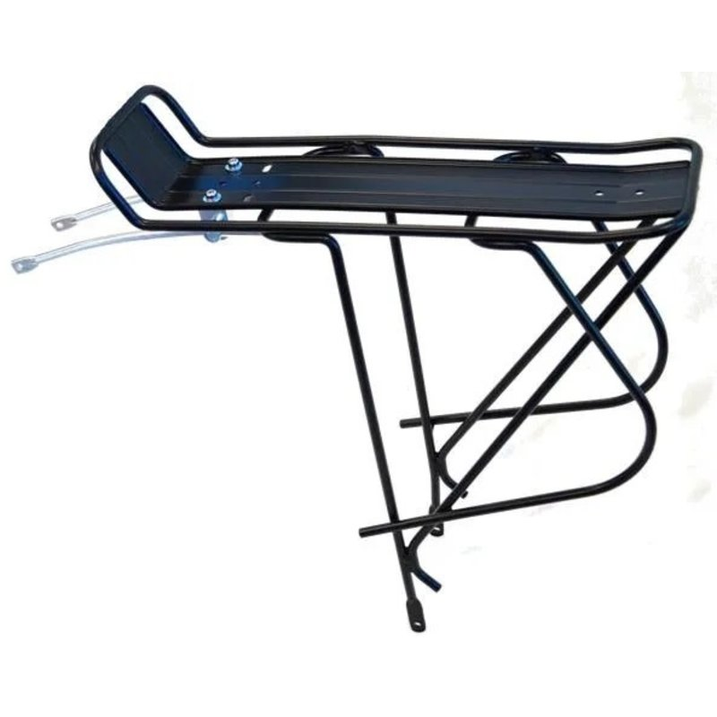 CARRIER - Rear Pannier Rack, 8mm Tubing, For 700C Non Disc, Fixed Stay Length, All Fittings Supplied