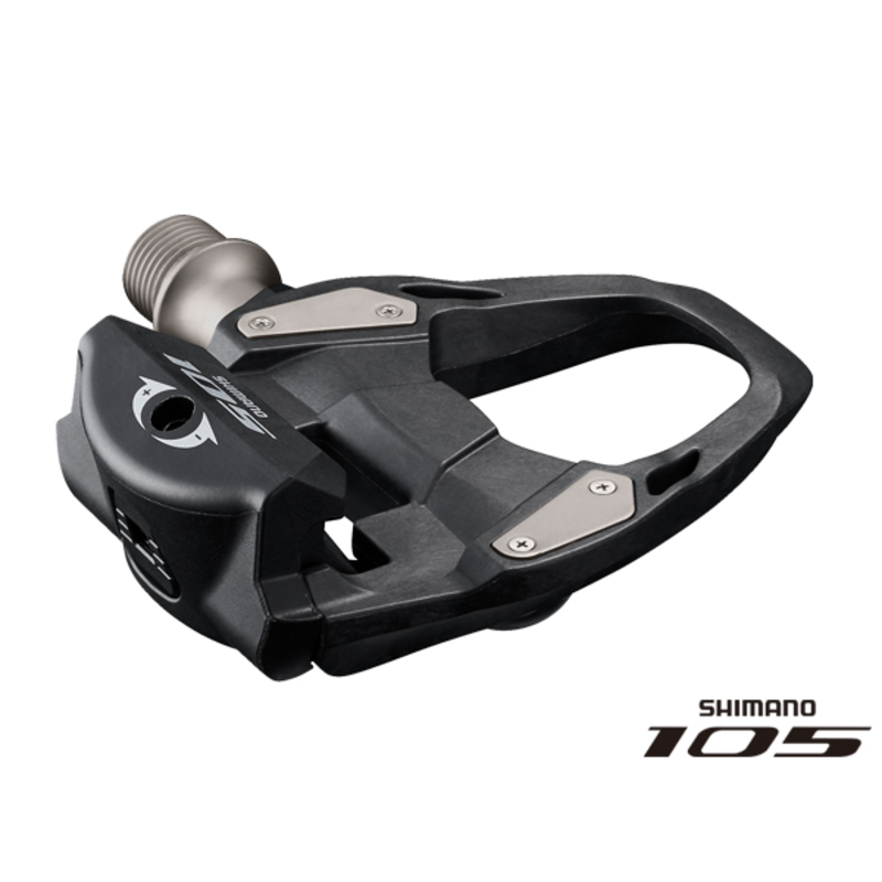 Shimano PD-R7000 105 SPD-SL Road pedals, carbon Black 9/16 inches