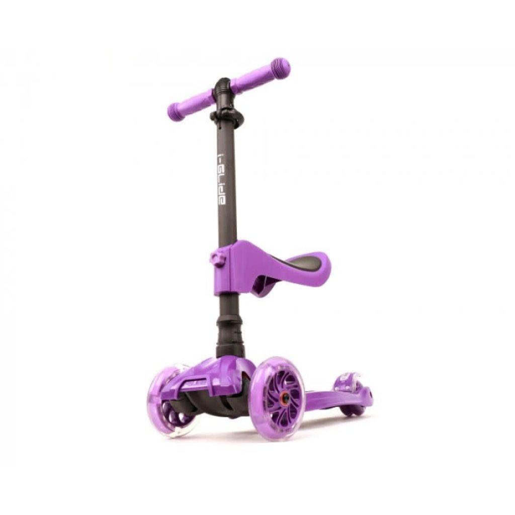 I-Glide 3 wheel scooter W/ Seat Purple