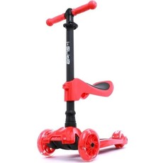 I-Glide 3 wheel scooter W/ Seat Red