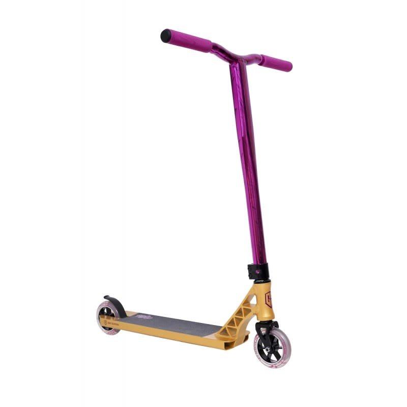 Grit Elite Scooter - Wild Gold / Vapour Purple Black Laser