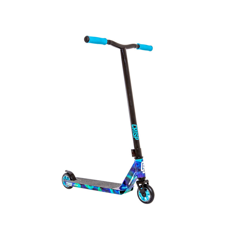 Crisp Switch Chrome Cloudy Blue / Black Scooter