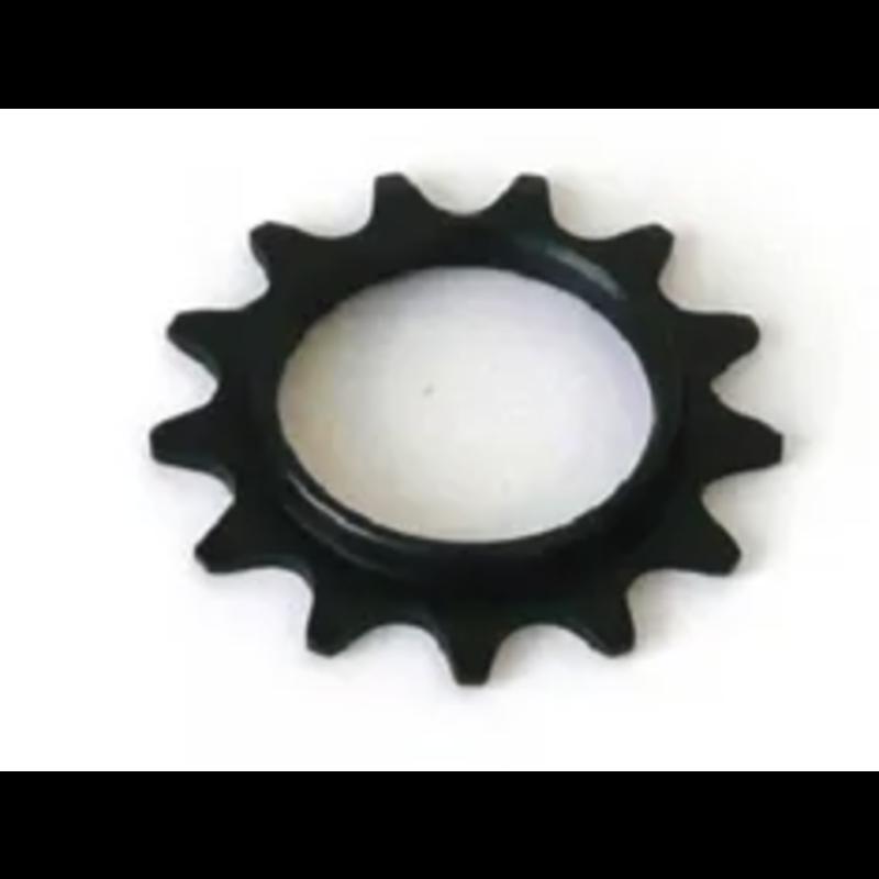 FIXED COG 1/8 x 13T BLACK STEEL