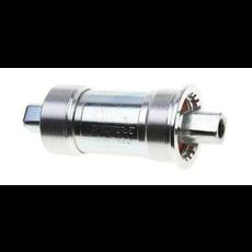 Bottom Bracket Cartridge, 68mm Shell, 110.5mm, Sealed Bearing, Threaded, Steel Cup