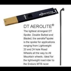 DT Aerolite Spoke Black 284mm