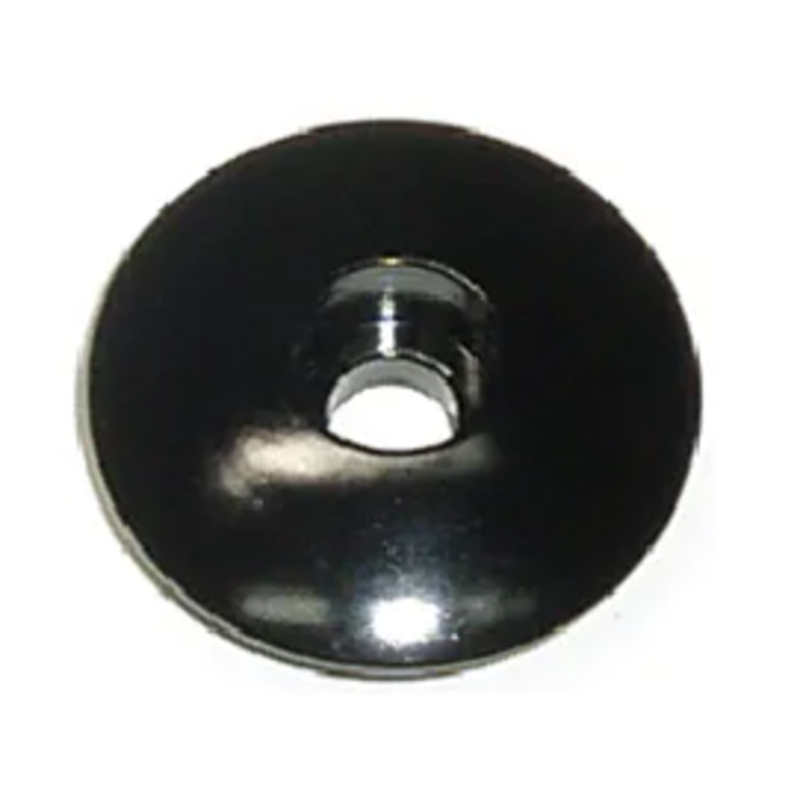 SPARE ALLOY TOP NUT  for 1 1/8'' Black Each