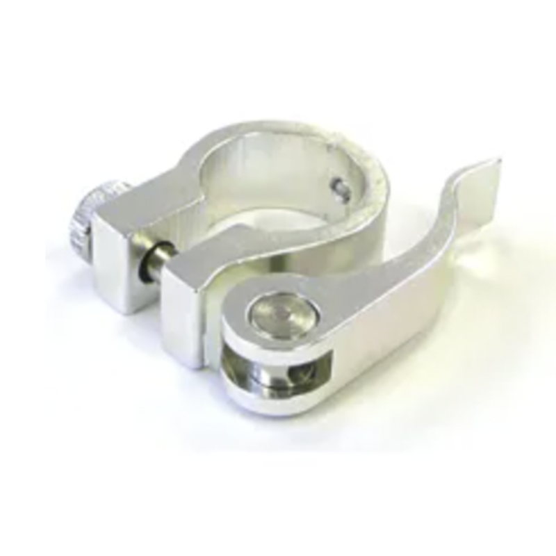 Seat Clamp Q/R 25.4mm Sil