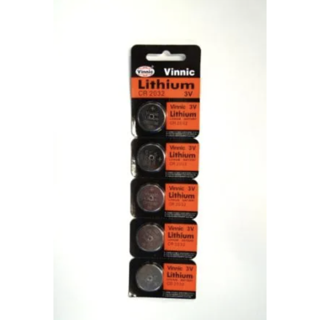 Battery CR 2032 Vinnic Lithium EA (supplied in card of 5)