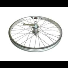 Alex wheel 20'' Coaster wheel silver