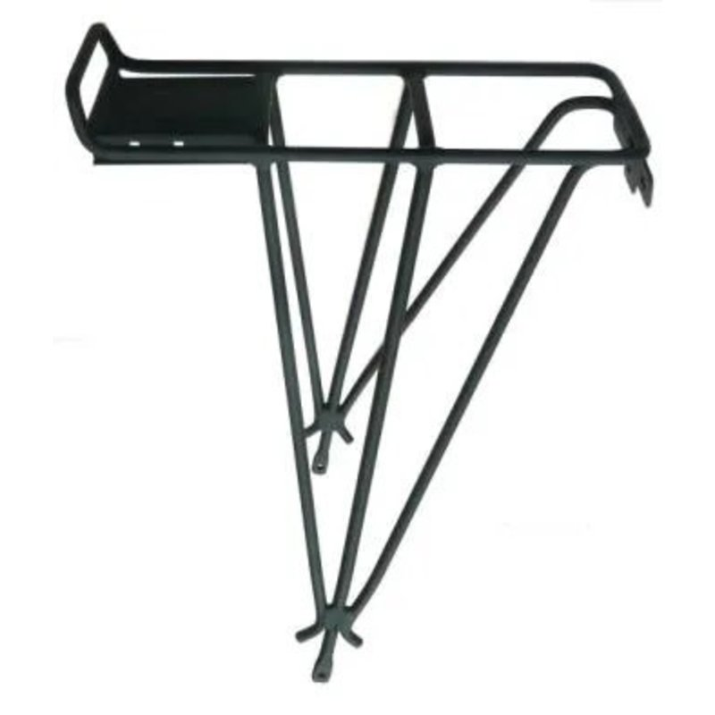 CARRIER - Beto Rear Carrier, Suits 26'' Disc Bikes, Suits Beto Baby Seat, For Bikes With Disc Brakes, Fittings Included, BLACK
