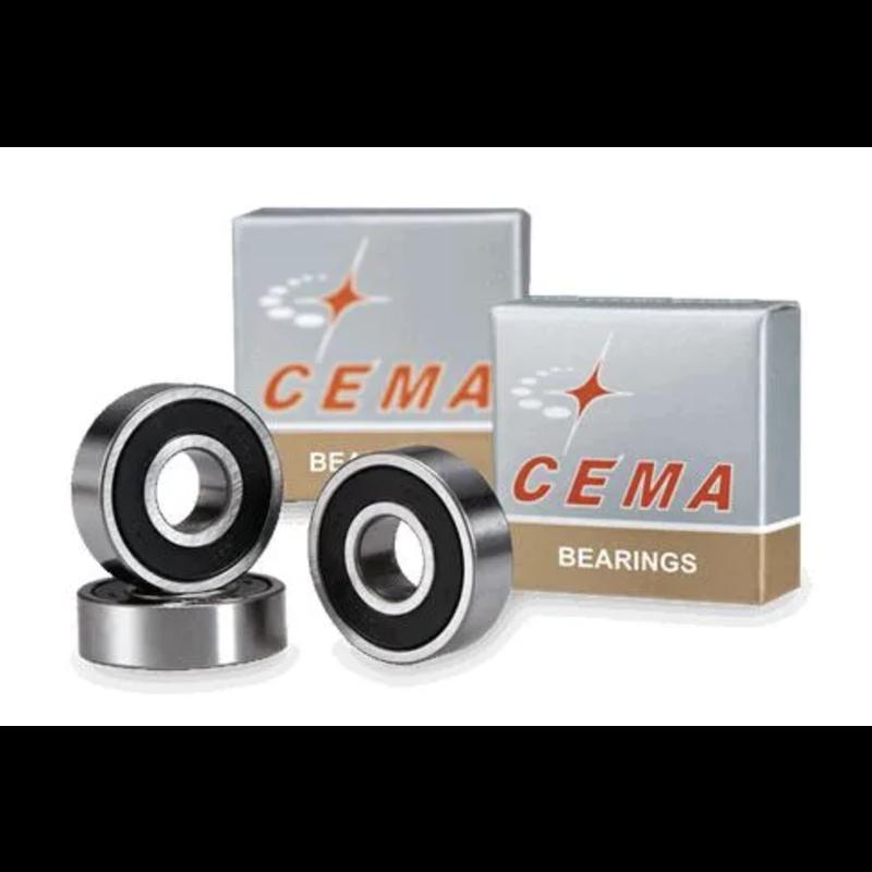 Sealed Hub Bearings CEMA, 6001LLB, 12 x 28 x 8mm, Chrome Steel (sold as each)