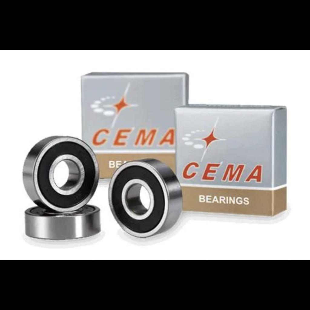 Sealed Hub Bearings CEMA, 6901LLB, 12 x 24 x 6mm, Chrome Steel (sold as each)