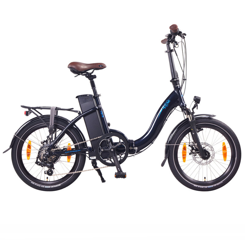 NCM Paris+ Folding E-Bike, 250W, 36V 19Ah 684Wh Battery, [Dark Blue 20]