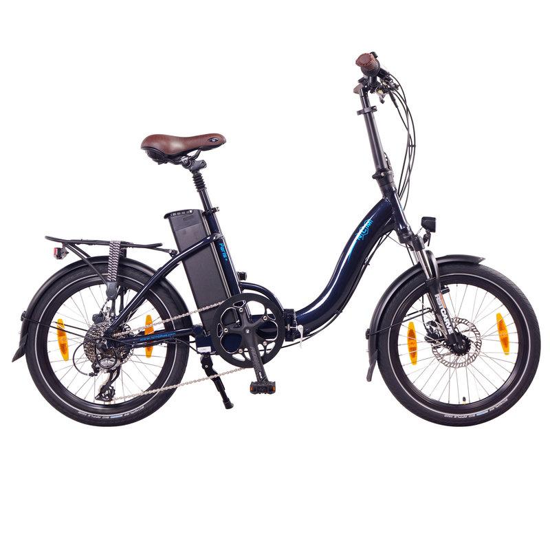 NCM Paris Folding E-Bike 250W 36V 15Ah 540Wh Battery Dark Blue 20