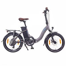 NCM Paris Folding E-Bike, 250W, 36V 15Ah 540Wh Battery, Size 20 [Grey]