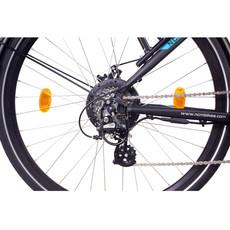 NCM Venice Trekking E-Bike, City-Bike, 250W, 48V 13Ah 624Wh Battery, [Black 28]
