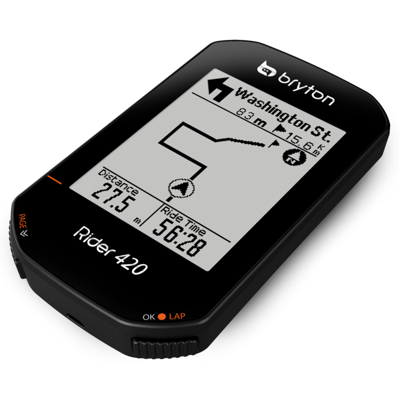 BRYTON RIDER 420 WITH CAD+HRM