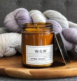 Wax and Wool Pebble Beach Candle