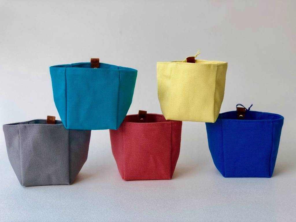 Brooklyn Haberdashery Canvas Knickknack Bin