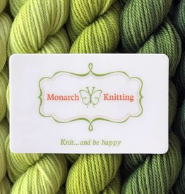 Monarch Knitting Print at Home Gift Certificate