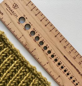Katrinkles Monarch 6-inch ruler