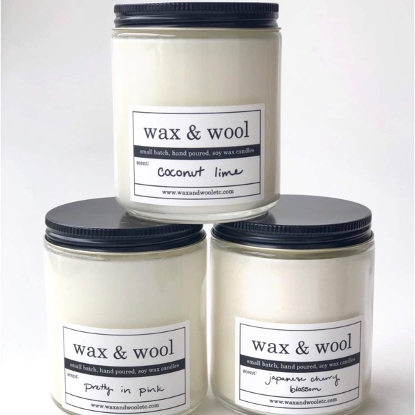 Wax and Wool Wax and Wool Candle