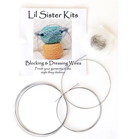 Lil Sister Knits Blocking & Dressing Wires
