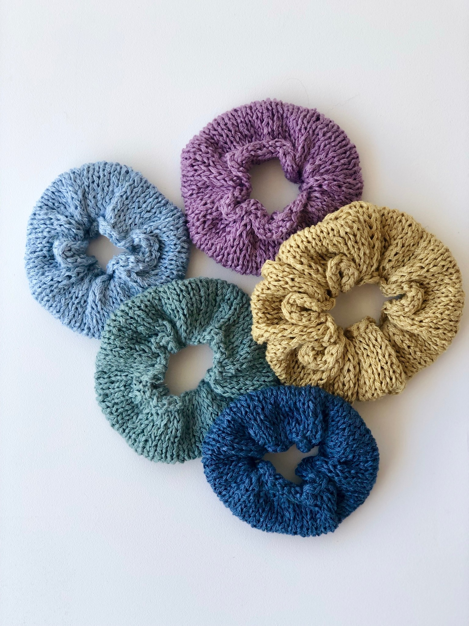 Linen Scrunchie Kit